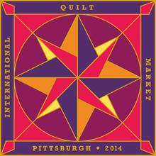 Quilt Market_Pittsburgh 2014 Logo