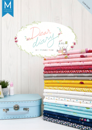 Dear Diary Fabric Showcase Sue Daley Designs Blog