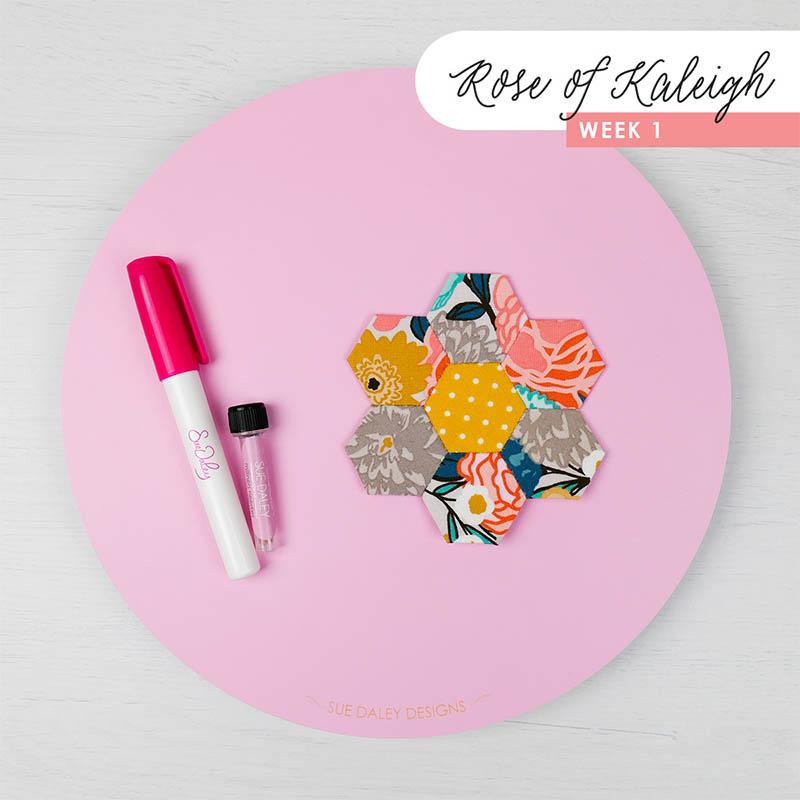 Rose of Kaleigh Step 1