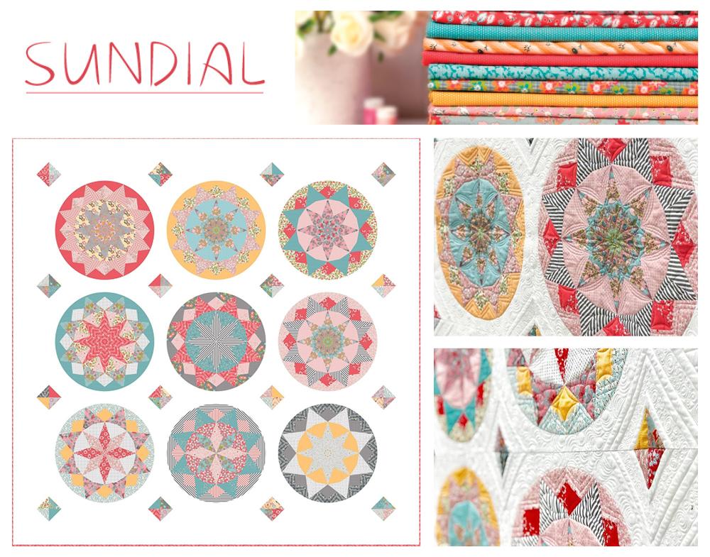 Sundial Quilt Image